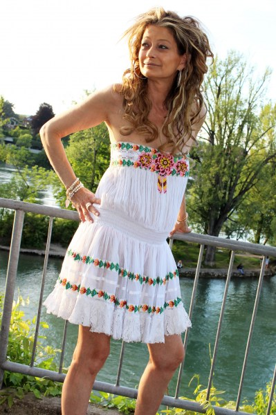 Cuba Dress white
